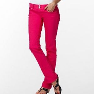 Lilly Pulitzer Worth straight jeans size 0 pink